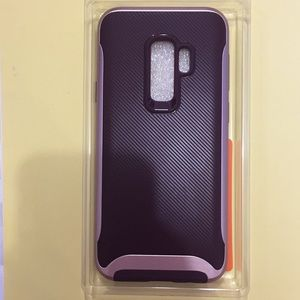 Accessories - Samsung Galaxy S9 Plus Case Burgundy & Rose Gold